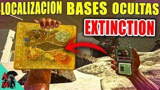 ARK EXTINCTION BASES OCULTAS | LOS MEJORES LUGARES PARA CONSTRUIR BASE | LOCALIZACION