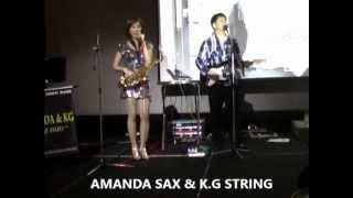 AMANDA SAX &KG STRING -MammaMia