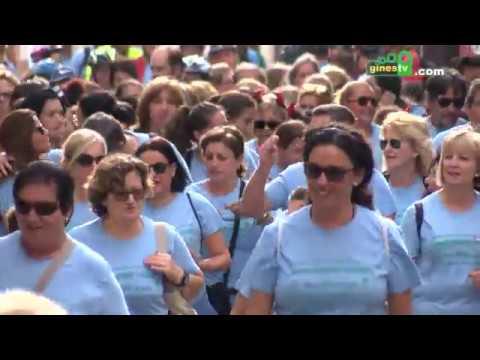 II Marcha Senderista y Cicloturista en Gines por el Día Internacional del Cáncer de Mama
