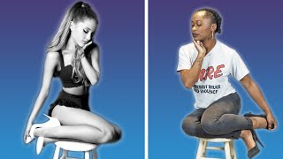 We Tried The Ariana Stool Sitting Challenge