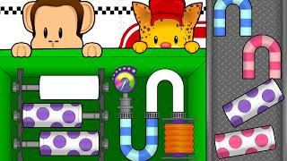 Monkey Preschool Lunchbox Fix It! Game Play for Kids
