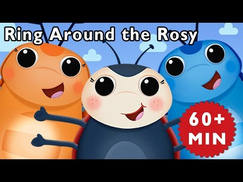 F Is for Flowers | Ring Around the Rosy and More | Baby Songs from Mother Goose Club!