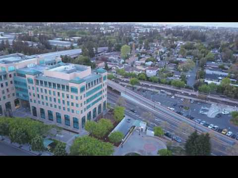 Downtown Sunnyvale by drone