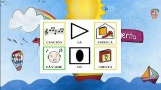 La Escuela, canción infantil con pictogramas