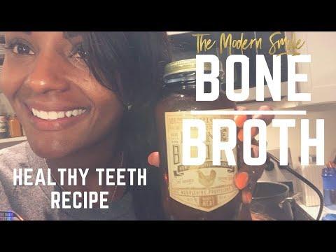 Bone broth for Healthy Gums, Teeth and Bone... My Recipe