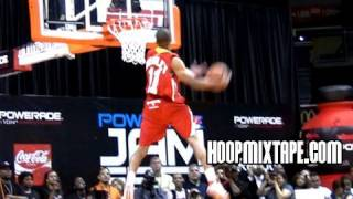 Avery bradley hoopin at the mcdonald's all american week.