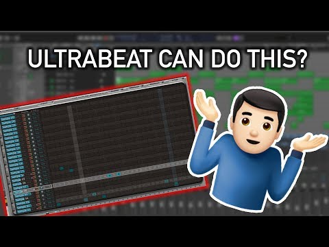 Ultrabeat Can Do This? |  Logic Pro X Trap Beat Tutorial