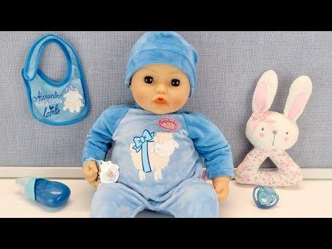 #Кукла Беби Анабель Мальчик Сосёт Соску и Плачет Куклы Пупсики Игрушки для девочек