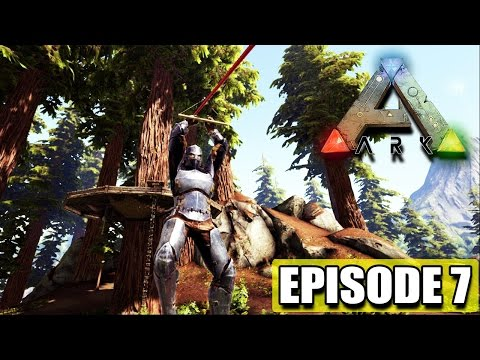 "Cave Exploring ""Ark Survival Evolved"" First Artifact!"