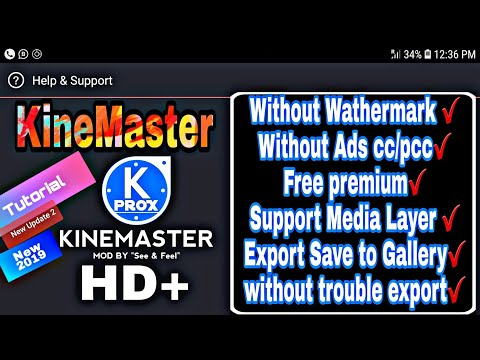 How to download kinemaster pro with croma key and video