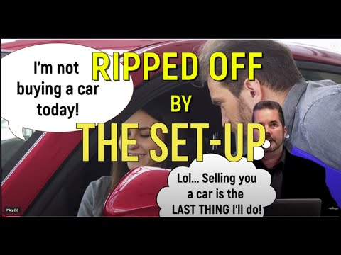 How a CAR SALESMAN TRICKS YOU into buying a car! DEALERS Rip you off with The SET UP – Auto Expert