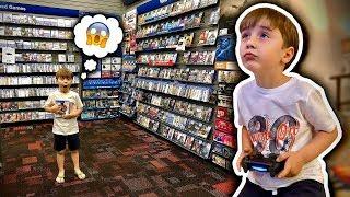 MARCOS FOI NA LOJA DE VIDEOGAMES DE ORLANDO E JOGOU PLAYSTATION 4