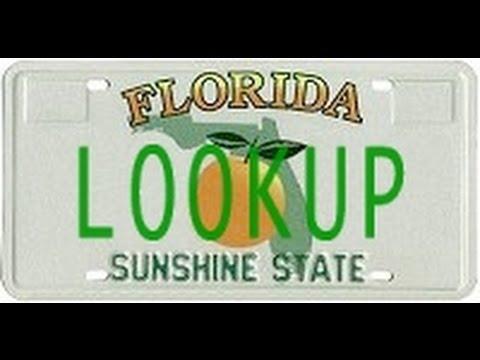 Florida License Plate Lookup
