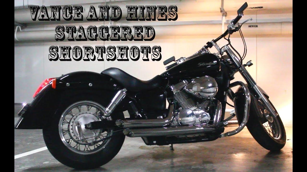 Vance & Hines ShortShots - 2005 Honda Shadow