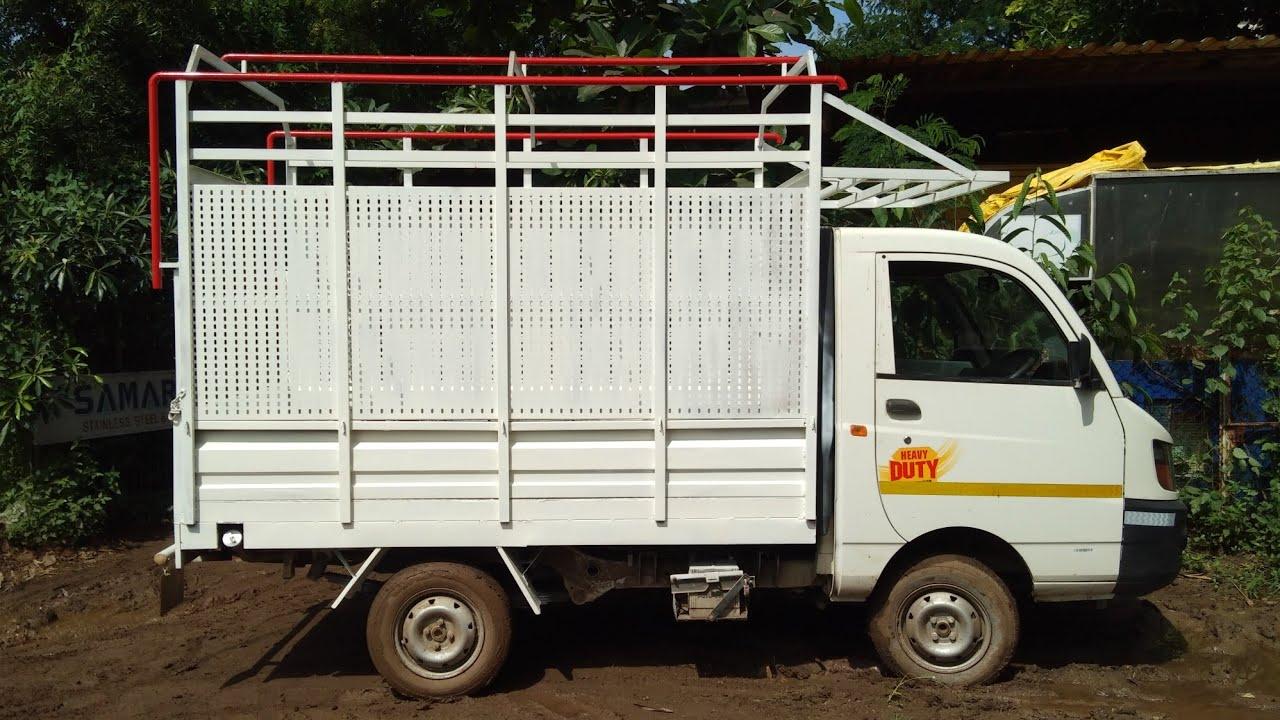 commercial body modify Mahindra Maximo Oct 2020