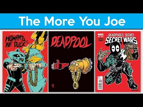 Comics and Hip Hop The More You Joe