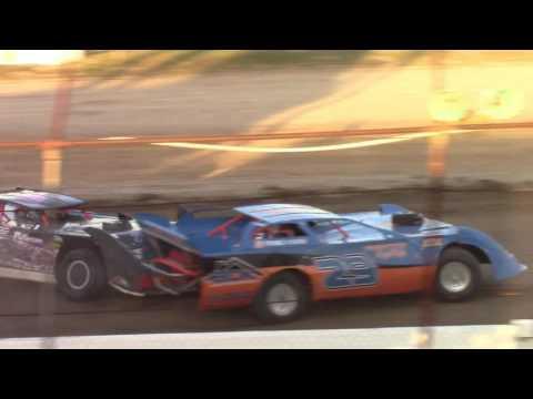 Genesee Speedway 360 Late Model Hard Crash 8-6-16