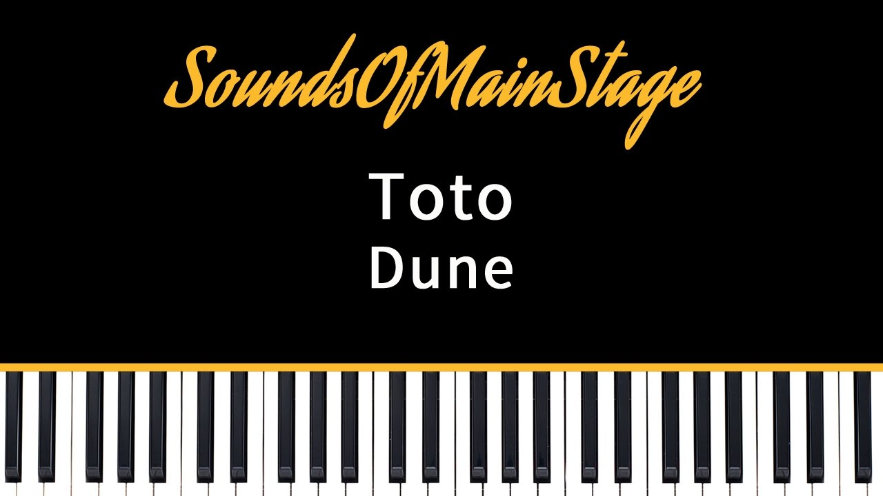 Sounds Of MainStage : Custom sets and sound patches for MainStage