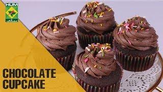 Super Moist Chocolate Cupcakes   Evening With Shireen   Masala TV Show   Shireen Anwar