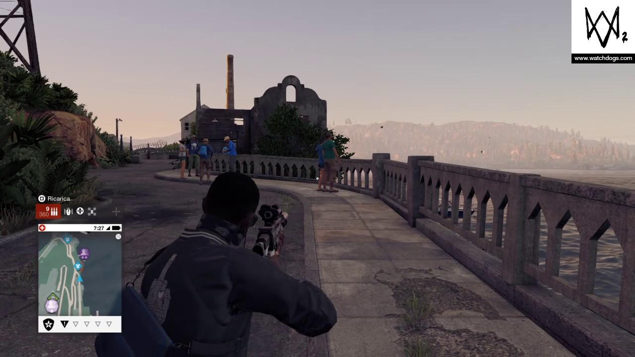 How To Get To Alcatraz Watch Dogs