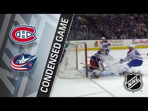 Montreal Canadiens vs Columbus Blue Jackets – Mar. 12, 2018 | Game Highlights | NHL 2017/18. Обзор