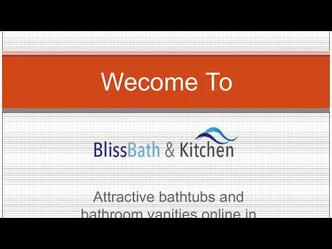 Attractive bathtubs and bathroom vanities online in Canada