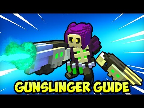 """HOW TO """"BUILD"""" GUNSLINGER CLASS For END-GAME In TROVE (2019)"""