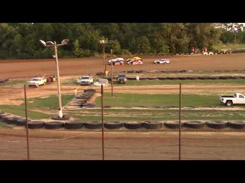Spoon River Speedway Pro Crate Modified heat race 8/26/2017
