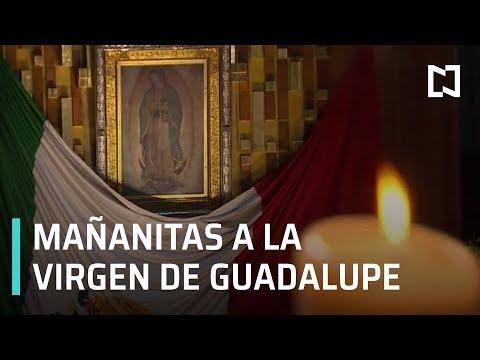 Mañanitas a la Virgen de Guadalupe 2020