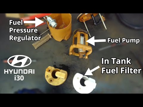 Hyundai In Tank Fuel Filter Replacement – Step By Step DIY