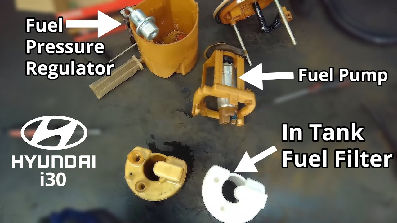 Hyundai In Tank Fuel Filter Replacement - Step By Step DIY - YouTube | Hyundai Accent Fuel Filter Replacement |  | YouTube