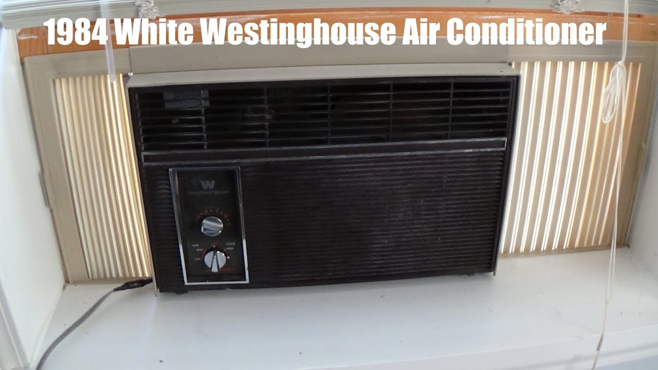 1984 White Westinghouse Air Conditioner You