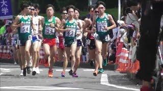 関東インカレ 2部ハーフマラソン 2019.5.26