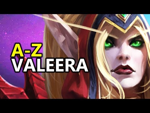♥ A  Z Valeera  Heroes of the Storm HotS Gameplay