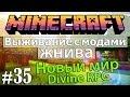 Minecraft: Выживание с модами - Жнива #35 - Новый мир/Divine RPG - Что то мало ресов :(
