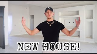IM MOVING OUT | BUILDING A HOUSE TOUR!