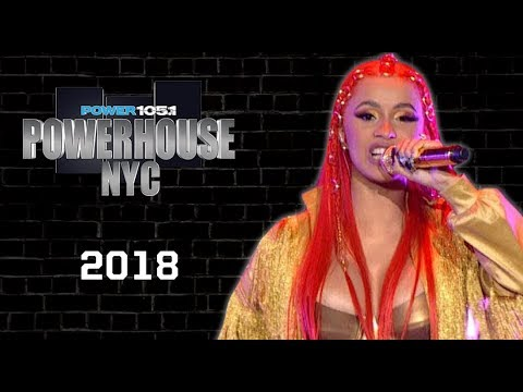 Power 105.1's POWERHOUSE NYC 2018 at The Prudential Center In Newark