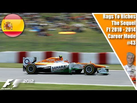 AN INCREDIBLE FINAL LAP!!! RAGS TO RICHES THE SEQUEL S3 R5 EP43 I F1 2012 SPAIN!!