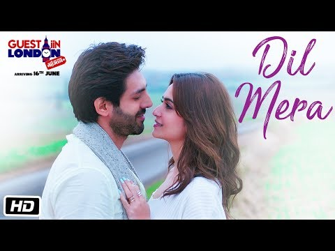 Dil Mera Song (Video)  | Guest iin London | Kartik Aaryan, Kriti Kharbanda | Raghav Sachar