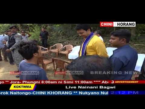 Tripura CM Visit Water Source Point of Hawrah River, Baramura
