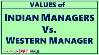 "indian management and western management An indian view of management r the western school of management the indian school of which deals with ""a very indian approach to management""."