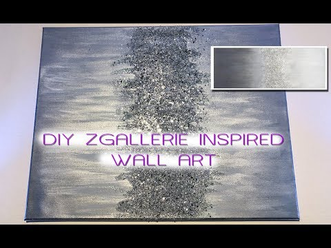 DIY ZGALLERIE INSPIRED WALL ART | MOOREGIRL
