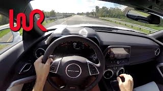 2016 Chevrolet Camaro SS (6MT) - WR TV POV Test Drive