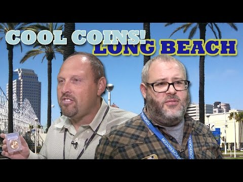 CoinWeek: COOL COINS! Long Beach Coin Expo September 2015. VIDEO: 9:14.