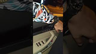 Araba Snapleri Gece Audi A8 Long Arka Koltuk   Vip Snap
