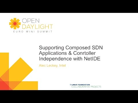 Supporting Composed SDN Applications & Conrtoller Independence with NetIDE