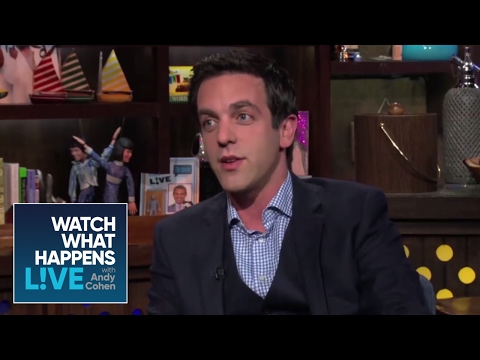 B.J. Novak Reacts to Mindy on Howard Stern  WWHL
