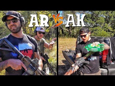Фаны AR против фанов АК... по-настоящему! | Разрушительное ранчо | Перевод Zёбры