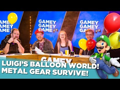 Luigi's Balloon World! Metal Gear Survive! Gamey Gamey Game