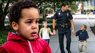 Cop Helps Boy Celebrate His Birthday After No One Picks Him Up From School